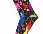 Unicorn Fleece Socks