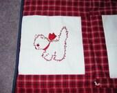 Cute Red Work Animals