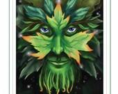 The Green Man - PRINT