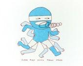 Super Fast Ninja Freak Speed