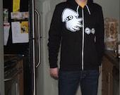 Custom Squid Flex Fleece Zip Hoodie MEDIUM
