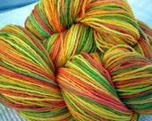 Sunshine in a Skein - 440 yds - striping sock yarn