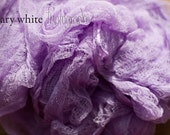 Cheesecloth wrap for photography prop - Lilac