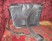 Black Leather COACH Shoulder Bag Free Shipping