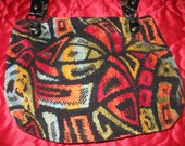 Groovy 60's Hippie Carpet Bag Purse
