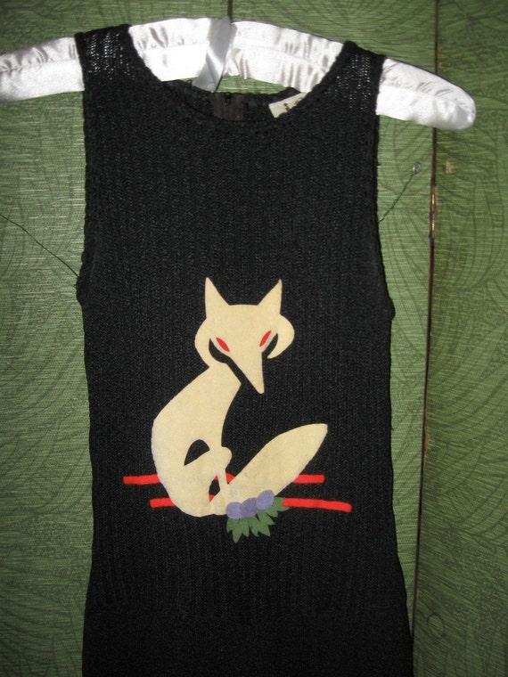 Foxy 70s Black Jumpsuit SM