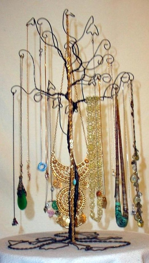 Jewelry Necklace Tree Stand Holder Rack