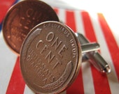 lucky penny cuff links
