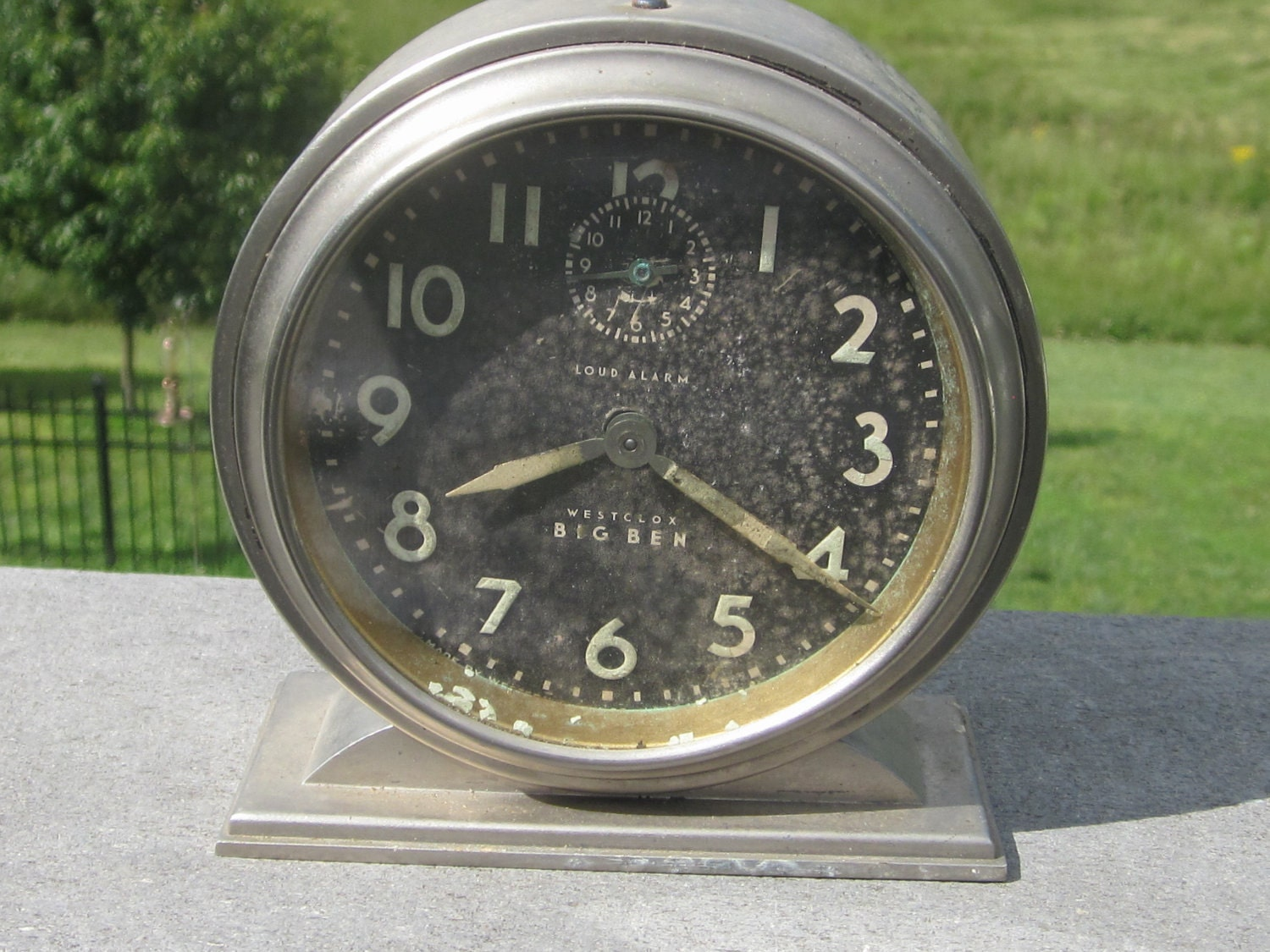 Sold And Reserved For Michele Big Ben Westclox Alarm Clock