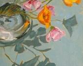 Lift  - original oil painting, 6x8