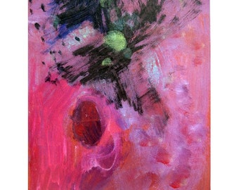 iLARTS ABstract Painting Now and ZEn Inner Landscape Soul MOod Acrylic