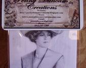 Vintage Lady Laser Image