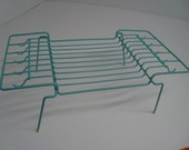 RESERVED FOR SHERHOOD please do not buy this item vintage cutest powder blue dish rack