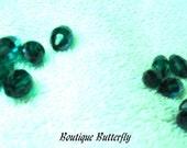 For June J. only --  LOT of 14 Swarovski AB Barrell shaped vintage crystals