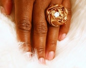 Swarovski Rosette Ring - Assorted Colors Available