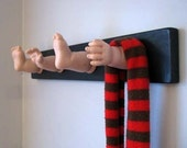Dismembered Baby Doll Coat Rack