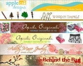 Custom Banner for your Etsy Shop