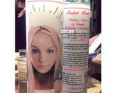 Saint Brit Prayer Candle - FEATURED ON MTV and TIME OUT NY