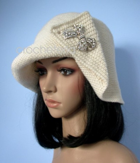 Craft it yourself - Diana hat, pdf pattern, american or british english version