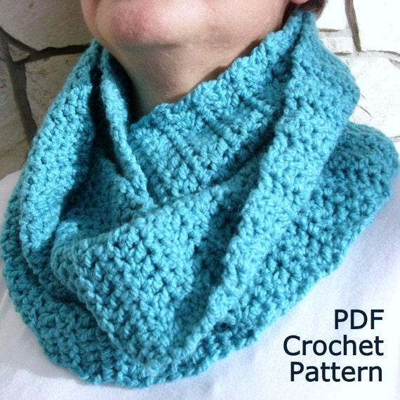 Free Crochet Neck Warmer Cowl Patterns : Items similar to PDF Crochet Pattern - Easy Cowl Neck ...