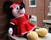 Hand-knitted Mini doll