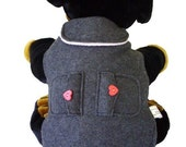 Adorable Fleece Jacket - XS, S, M, L, XL, XXL & Giant - Available Without Pockets and Other Colors Available