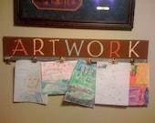 Artwork Display Board