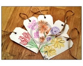 Floral Tags\/Cards
