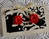 Mini Rosebud Earrings