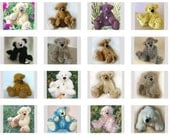 Bulk Bear Pattern Deal - Pdf Collection -  18 artist designed teddy patterns PLUS Pulled toes info doc - Super Deal
