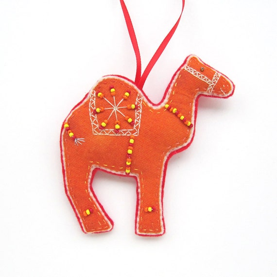 Christmas Camel Ornament/ Decoration