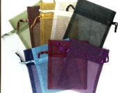 30 Organza Pouches-YOU CHOOSE THE COLORS