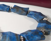 Necklace - Lapis and Sterling
