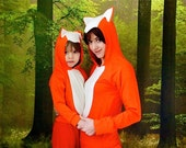 mum-kid  fancy dress set fox