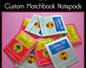100 Custom Matchbook Notepads