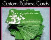 50 Custom Business Cards