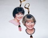 Laverne and Shirley Earrings
