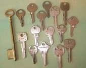 Old Keys for Crafts