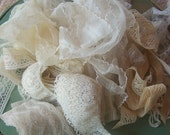Grab Bag of Ecru Lace and Trim