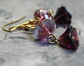 Elegance - ooak earrings