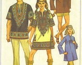 Great vintage boho caftan look - unisex
