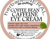 Coffee Bean Caffeine Eye Cream - depuffing