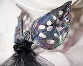 iridescent dark black opal fairy wings halloween costume