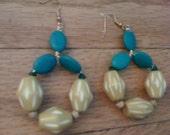 ethnic melon earrings