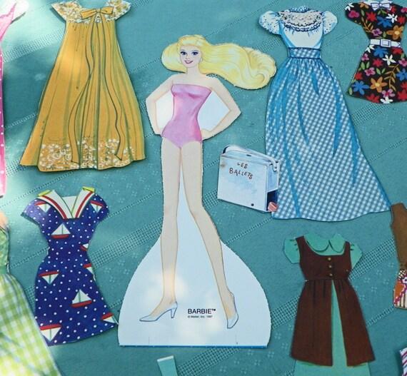vintage barbie scrapbook eBay