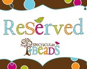 Reserved listing for Lydia