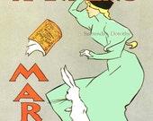 Edward Penfield Harper's Magazine  Belle Epoque Ad Vintage  Victorian Color Lithograph Art Nouveau Poster Print To Frame