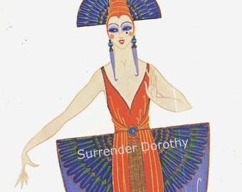 Mistress Of Ceremonies Folies-Bergere, Paris 1922 By Erte'