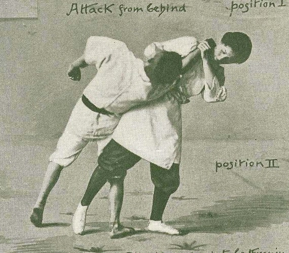 Jiu Jitsu Holds Japanese Antique Martial Arts Self Defense Print To Frame