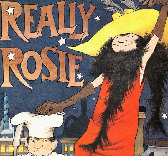 Really Rosie Maurice Sendak Original Children's Nursery Poster To Frame